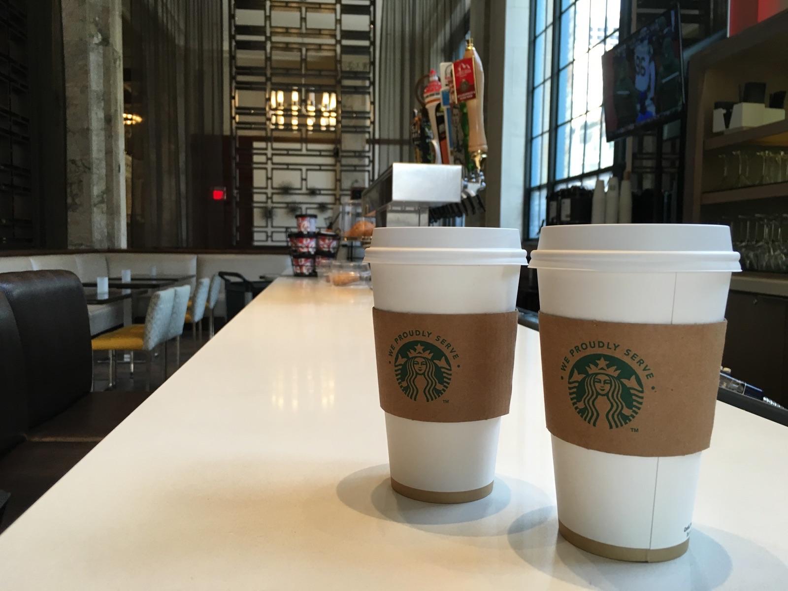 Starbucks en tu hotel. ¿Por qué no?